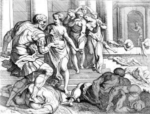 Odysseus's unfaithful maids