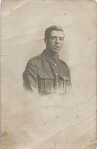 Pte Oliver Summerly, killed in action 1st September 1918
