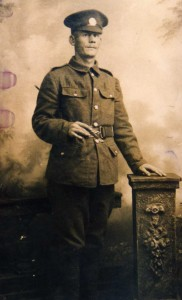 Pte Tom Davenport, died of wounds 2nd July 1916